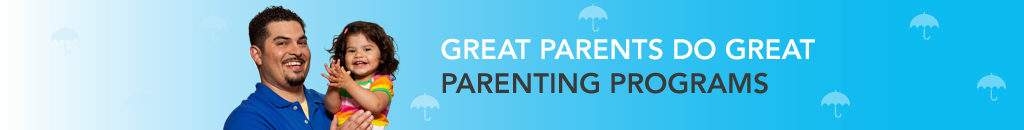 Father and daughter – Great parents do great parenting programs.