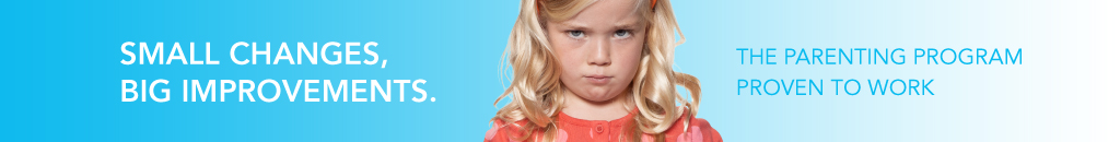 Pouting girl – Small changes, big improvements. The parenting program proven to work.